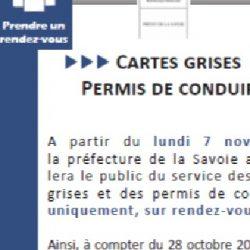 Cartes grises et permis de conduire – Sur RDV