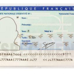 Carte nationale d'identité, changement!