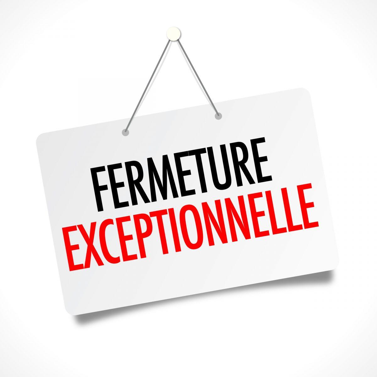 Fermeture Mairie