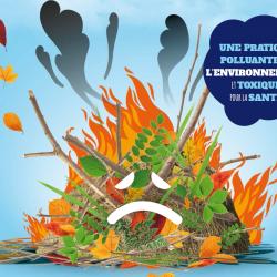 Ne Brûlez pas vos déchets verts !