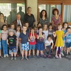 Une classe de maternelle remporte le 2e Prix National de l'AMOPA
