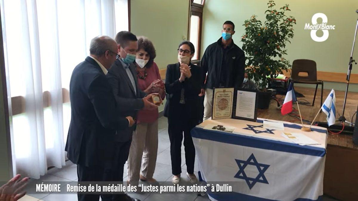 Remises de la médaille de «Justes parmi les nations» : Reportage de la 8 Mont-Blanc à Dullin
